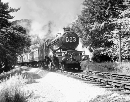'Tintagel Castle', Castle Clas 4-6-0 locom