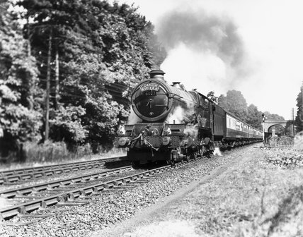 King Edward VI' steam locomotive, 1947.