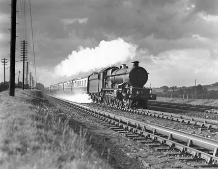 'Sir Daniel Gooch' steam locomotive.