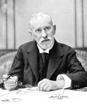 Paul Ehrlich, German bacteriologist, c 1910.