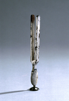 Tuning fork, c 1869-1874.