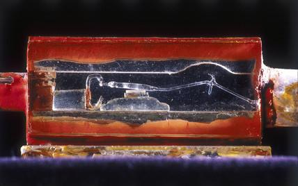 Aston's quartz microbalance, c 1919.
