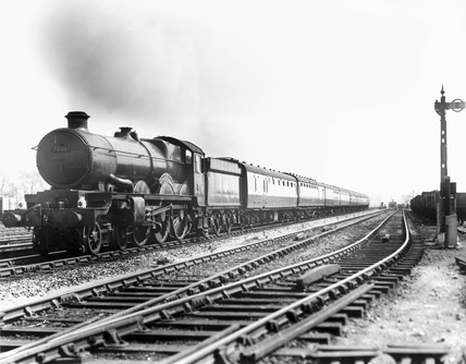 'Taunton Castle' steam locomotive, Castle C