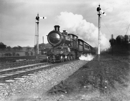 Lalla Rookh' steam locomotive, Saint Clas 4-6-0 engine, 12 March 1930.
