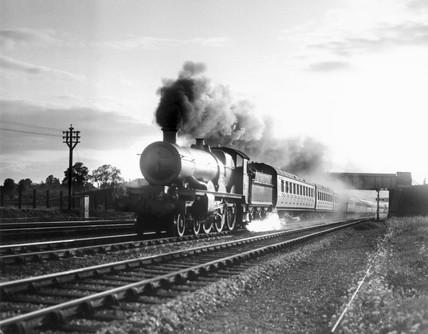 'Queen Charlotte' steam locomotive, Star Clas, 4-6-0 , 11 August 1934.
