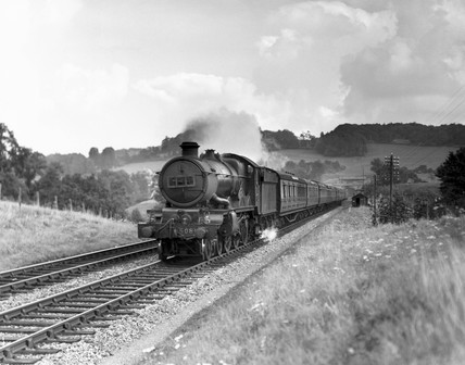 'Lockheed Hudson' steam locomotive, Castle