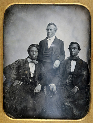 Two Hawaiian princes, May 1850.