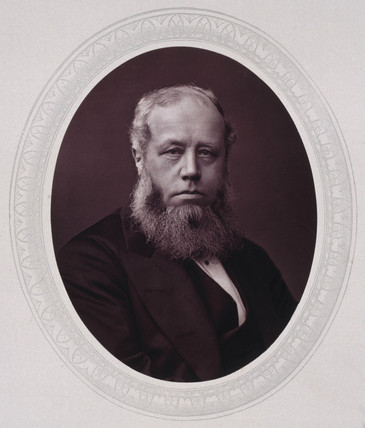 Sir Richard Baggallay, British judge, c 1876.