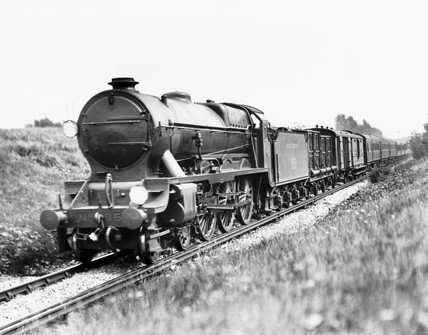 Southern Railway 'Lord Nelson' pasing Chislehurst bound for Victoria, c 1928.