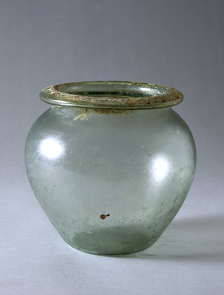 Cinerary urn, Roman, 101-230 AD.