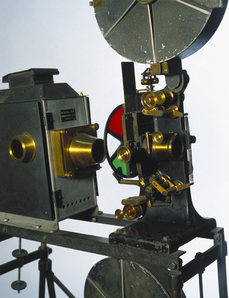 Kinemacolor projector, 1888.