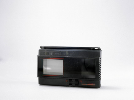 Sinclair FTV1/TV80 flat-screen pocket television, 1981.