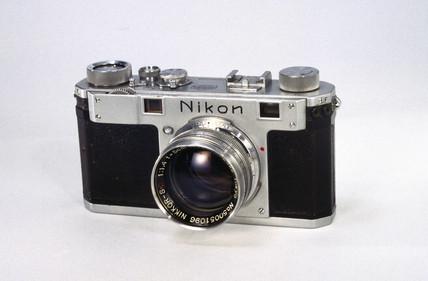 Nikon S rangefinder camera, 1951-1955.