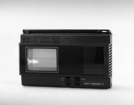 Sinclair flat-screen pocket TV, 1981.