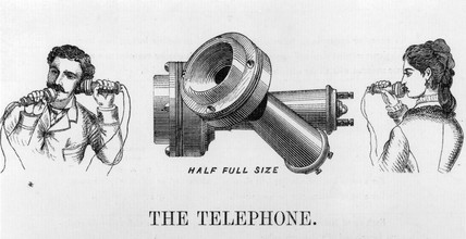 Advertisement for the telephone, 1877.