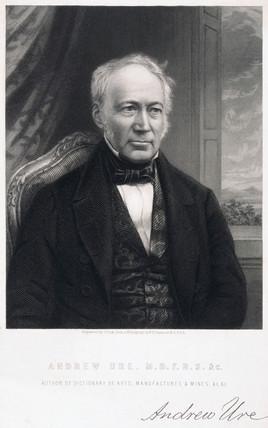 Andrew Ure FRS, British chemist, c 1850.