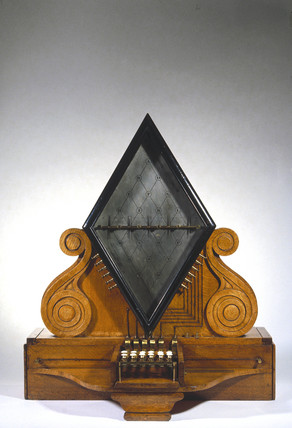Cooke and Wheatstone five-needle telegraph, 1837.