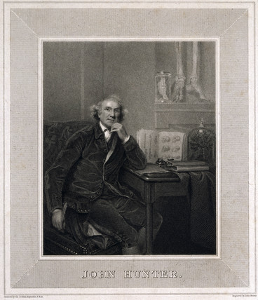 John Hunter, British surgeon and anatomist, 1829.