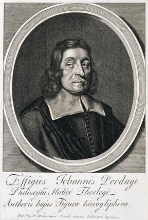 John Pordage, English rector, astrologer and mystic, c 1670s.