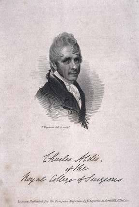 Sir Charles Aldis, surgeon, 1817.
