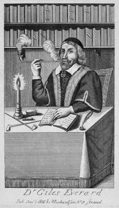 Giles Everard, Dutch physician, 16th century.