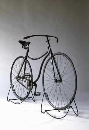 Rover safety bicycle, 1885, in Science Museum collections (credit: Science Museum / Science & Society)