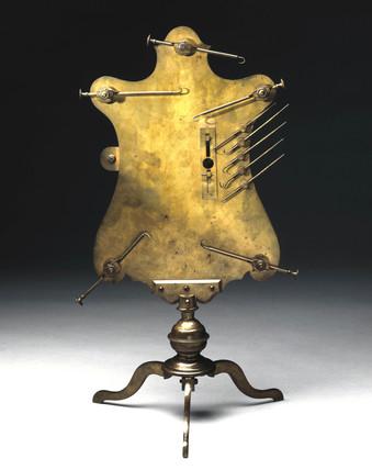 Disecting microscope, c 1750.
