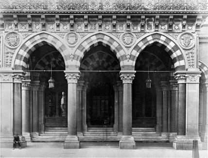 St Pancras Station Hotel, London, 1866-1870.