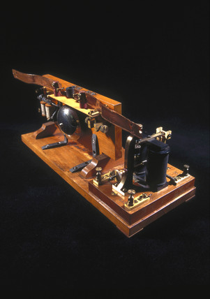 Wireles receiver (coherer) , 1897.