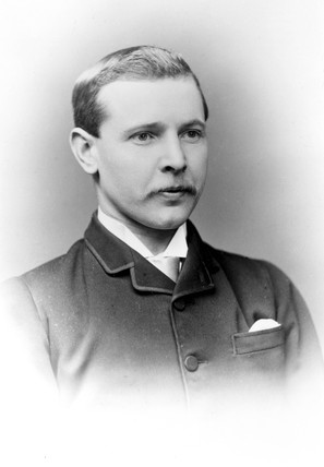 Dan Albone, English inventor, 1902.