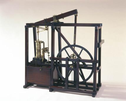 Boulton and Watt condensing engine, c 1800.