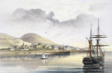 Valentia, Ireland, 1857-1858.