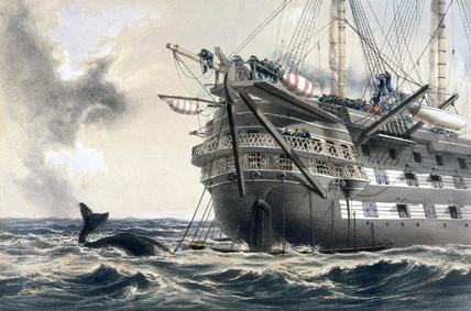 HMS 'Agamemnon', 1858.
