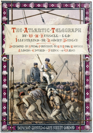 Weighing anchor off Maplin Sands, Essex, 15 July 1865.