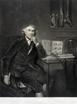 John Hunter, British surgeon and anatomist ,1786.