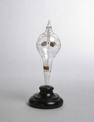 Crookes' radiometer, 1877.