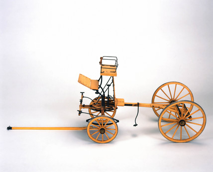 Horse breaker's skeleton brake.