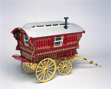 Dutton Reading lodge caravan.