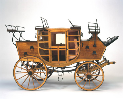 Royal Mail coach, c 1800.