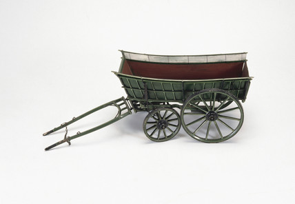 Tipping wagon, c 1841.