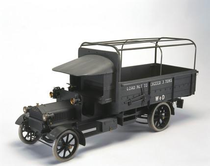 Albion motor wagon, 1914.