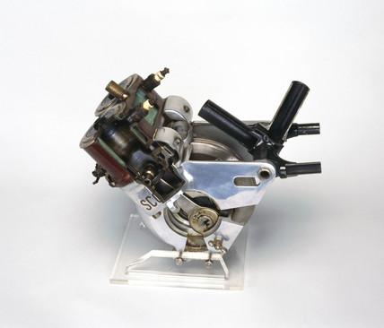 Scott motorcycle engine, 1919.