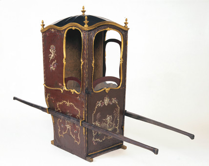 Sedan chair, 17th-18th century. at Science and Society ...