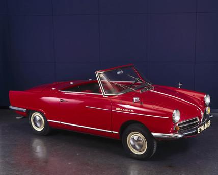 NSU Wankel Spider motor car, 1965.