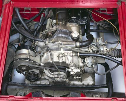 Wankel rotary engine, 1965.