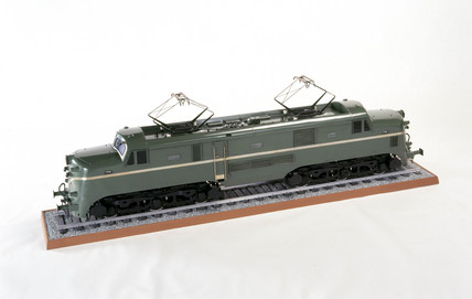 Electric locomotive, 1953. Model (scale 1:1