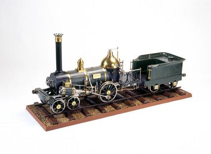 Norris 4-2-0 'Austria' locomotive, 1843. M