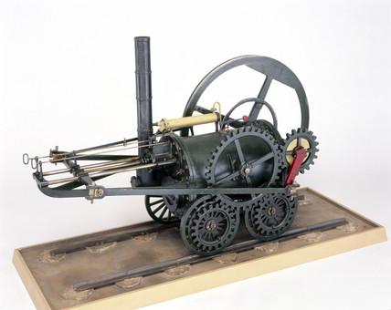 Pen-y-darran locomotive, 1804. Model.