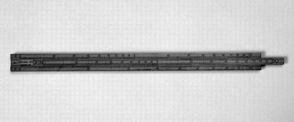 Slide rule belonging to James Watt, Scottish engineer, 1790-1819.