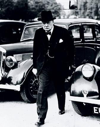 Winston Churchill, London, September 1939.